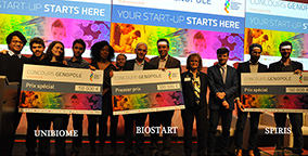 Biostart gagne le Genopole Young Biotech Award