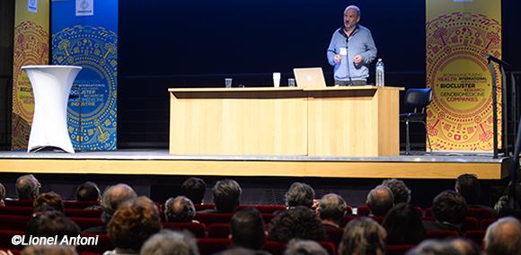 M. Peshanski au colloque Médecine et biologie du futur