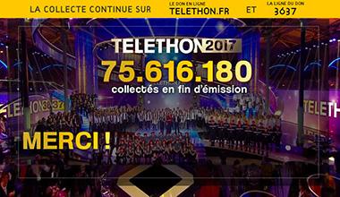 Téléthon 2017 - Il est encore temps de faire un don!