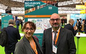 Laurence Lacroix et Laurent Pépin à Bio-Europe
