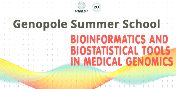 Summer School Genopole 2018 - Bioinformatic and biostatistic tools in medical genomics