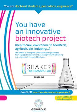 Shaker Genopole - Lab Biotech